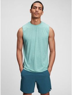 Fit Sleeveless Relaxed Fit Active Tank Top
