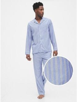 Adult Poplin Pajama Set