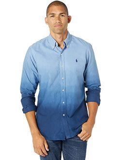 Dip-dyed Cotton Oxford Shirt