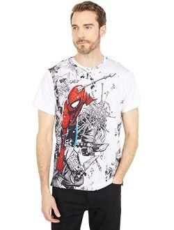 Ninja Battle Short Sleeve Knit T-shirt