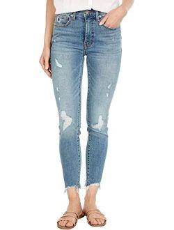 Bridgette Skinny Jeans In Afly Dest Chew