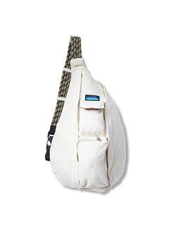 Organic Rope Bag Sling Crossbody Backpack -mtn Natural