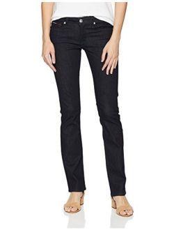 Women's Straight Leg Sandy Mid Rise Jeans