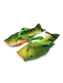 Coddies Fish Sandals | The Original Fish Shoe | Unisex Sandals, Bass Slides, Slippers, Pool, Beach & Shower Shoes | Men, Women & Kids