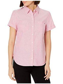 Women's Classic Short Sleeve Camp Shirt