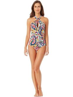 Ring High Neck One-piece