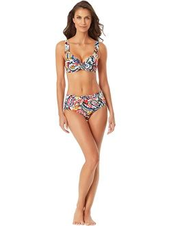 Underwire Twist Front Bikini