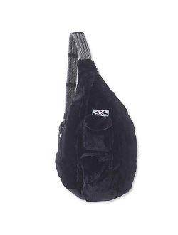 Rope Fuzz Sling Bag Crossbody Backpack