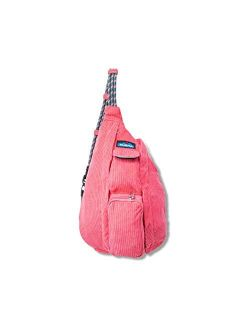 Mini Rope Cord Bag Corduroy Sling - Park Green