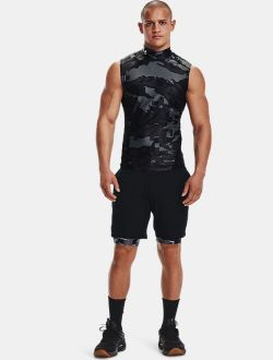 Men's UA Iso-Chill Compression Mock Printed Sleeveless