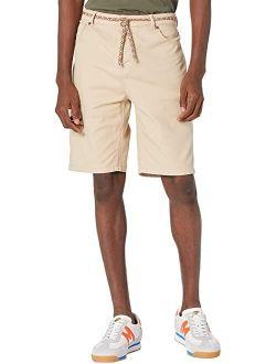 Scotch & Soda Seasonal - Garment-Dyed Twill Five-Pocket Shorts