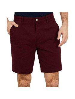 "Men's 8.5"" Stretch Twill Classic-fit Shorts"