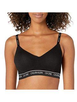 Women's Ck One Cotton Lightly Lined Bralette