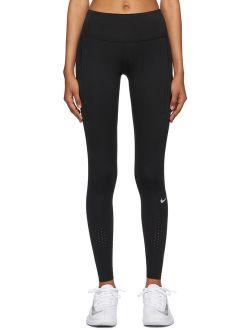 Black Epic Luxe Sport Leggings