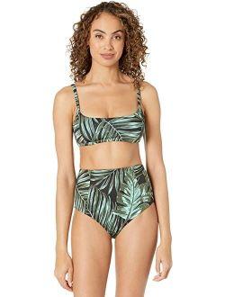 Sanctuary Palmetto Paradise Bralette Bikini Top