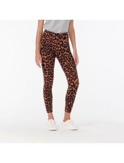 7/8 High-rise Leggings In Leopard