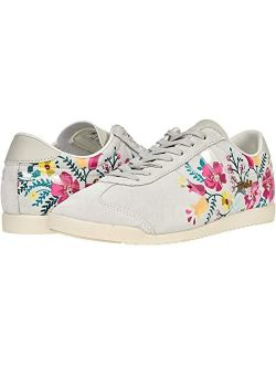 Bullet Suede Floral Lace-up Sneakers
