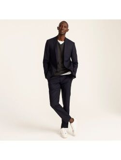 LUDLOW Ludlow Slim-fit suit jacket with double vent in Italian wool