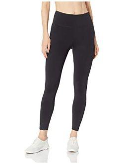 Women's Premium Performance High Waist Moisture Wicking Legging, Black, Medium