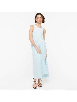 Knit Cutaway Tank Maxi Dress