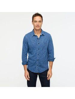Indigo-dyed Harbor Shirt