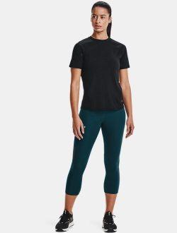 Women's UA RUSH™ No-Slip Waistband Vent Capris