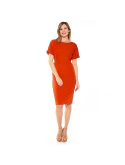 Women's ALEXIA ADMOR Jacqueline Dolman Sheath Dress