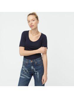 Slim Perfect Scoopneck T-shirt