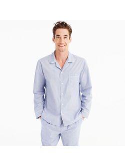 Pajama set in cotton poplin