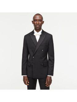 Ludlow Slim-fit double-breasted tuxedo jacket in Italian wool