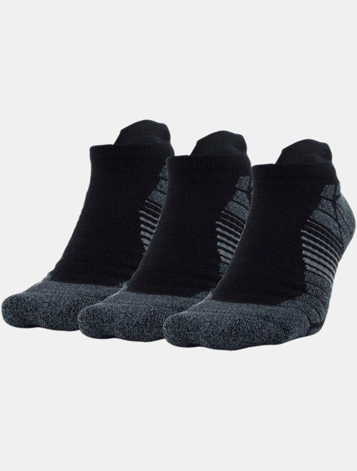Under Armour Men's UA Elevated Performance No Show – 3-Pack Socks
