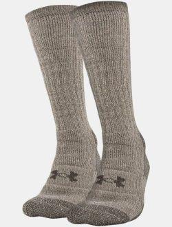 Unisex UA Charged Wool Boot Socks - 2-Pack