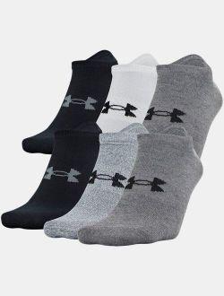 Men's UA Essential Lite 6-Pack Socks