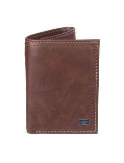 Ockers® Rfid-blocking Trifold Wallet With Zipper Pocket