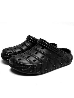 DIOXADOP Unisex Garden Clogs Men's and Women's Summer Clogs Slippers Slip on Water Shoes Sandals for Beach Pool Slides Shower