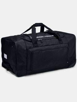 UA Road Game XL Wheeled Duffle Bag
