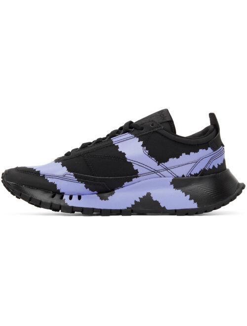 Black & Purple Reebok Edition 'Call Mom' Classic Legacy Sneakers