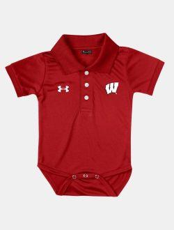 Infant UA Collegiate Polo Bodysuit