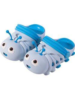 Kid Slippers Caterpillar Boys Girls Sandals Light Garden Shoes Non-Slip Water Cute Clogs Beach Pool