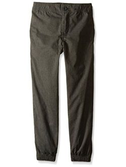 Boys' Jogger Pant With Constructed Partial Elastic Waistband