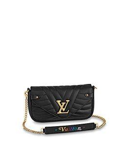 New Wave Chain Pochette Crossbody Bags Purse Handbags