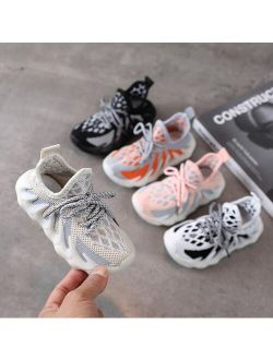 Boys Shoes Brand High Quality Kids Sneakers Non-slip Soft Children Casual Shoes Footwear Rubber Girls Child Shoes Unisex Boys