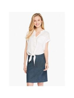 Women's Seams To Be Denim Skirt Dark Denim