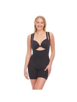 's Red Hot By Spanx® Open-bust Mid-thigh Bodysuit Fs5415