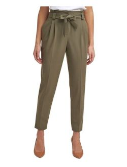 Tie-Detail Pants, Regular & Petite Sizes