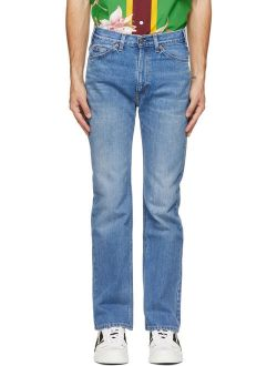 Blue Levi's Edition Denim 517 Jeans