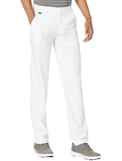 Solid Golf Mid Rise Regular Fit Pants