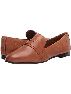 Terri Penny Leather Round Toe Loafer