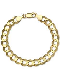 Macy's Cuban Chain Link Bracelet in 10k Gold
