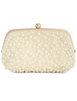 INC International Concepts INC All Over Pearl Pouch Clutch, Created for Macy's